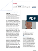How the Benefits of XML Extend Beyond SEPA