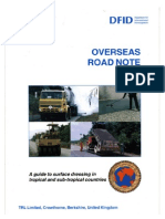 Overseas Road Note 03