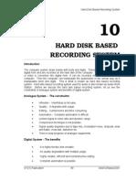 10_Hard Disk Based Recording System