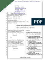Speculative Prods. v. Mattson - Complaint