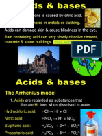 25 acids and bases