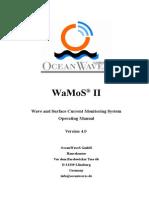 OceanWaves WaMoS II Operating Manual