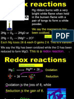 26 redox reactions