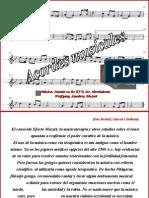 Acordes musicales efecto mozart