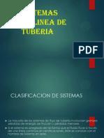 6. Sistemas de Linea de Tuberias en Serie