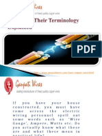 Wires and Their Terminology Explained