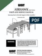 Airhawk Parts & Service Manual