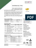 Datasheet Sensitec CDS4010 DSE 07