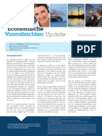 Update Economische Vooruitzichten - September 2014