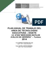Plan de Trabajo de Crt 2014