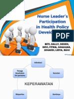 Nurse Leader's Participation