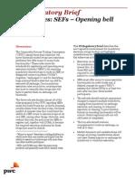 Fs Reg Brief Derivatives Sefs Opening Bell Sounds