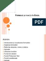 Lectia6 Excel Formule Funcţii