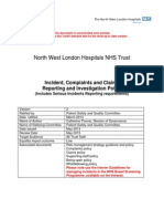 NWLHT Incident Reporting Policy New