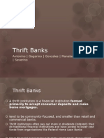 Thrift Banks Report