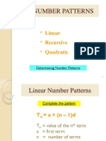 g11 3 numbers patterns