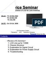 Tc-32lx600 Tc-26lx600 Tc-32lx60 Tc-26lx60 Tc-23lx60 Service Seminar