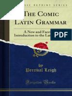 The Comic Latin Grammar