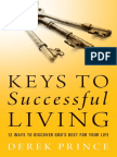 Keys to Successful Living