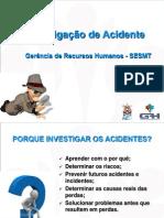 Modulo 12 - Investigação e Análise de Acidentes