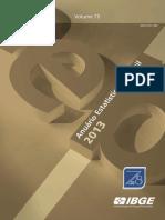 IBGE - Anuário Estatístico Do Brasil 2013