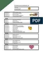 2009-10 KIPP Academy Elementary Calendar