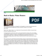 Back to Basics_ Water Heaters