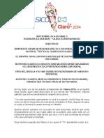 Clasico Rcn Claro 2014 Boletin 03 Oscar Sevilla Va Por El Tri