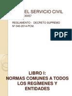 Ley Del Servicio Civil Examen