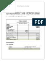Informe Económico Financiero, Proyectos Empresariales 22222