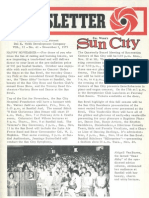 Sun City Newsletter-November 1, 1973-Vol 11 No 41