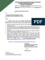 Surat Kebijakan Pengadaan Formasi ASN Tahun 2014