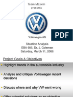 Volkswagen a g Situation Analysis Final 2