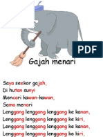 Gajah menari