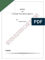 20573982 Seven Eleven Case Analysis