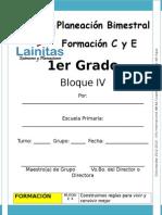 1er Grado - Bloque 4 - Formación C y E