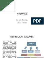 Valores Expo