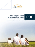 Legal Needs for the American Family