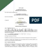 Ley 438 de Probidad
