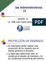 Finanzas Administrativas II Semana IV