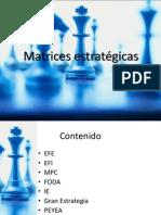 Matrices Estrategicas