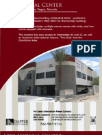 Las Vegas Dental or Medical Space for Lease