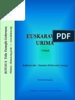 457 euskaravafa urima ~ 457 Euskara proverbs (Euskadi)