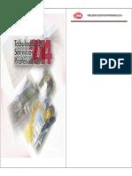 Tabulador de Servicios Profesionales 2014