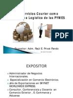 Los Servicios Courier Como Plataforma Logistica de Las Pymes