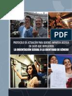Protocolo de Actuacion Para Quienes Imparten Justicia en Casos Que Involucren La Orientacion Sexual o La Identidad de Genero 0