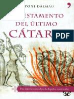 El testamento del �ltimo c�taro de Antoni Dalmau r1.0