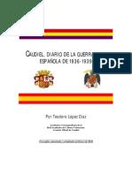 Caudiel Diario de La Guerra Civil de 1936 1939