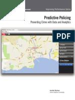 Predictive Policing