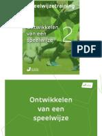 Voetbalmethode eBook Deel 2 Speelwijze
